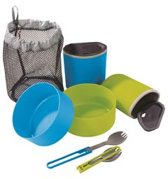 MSR 2 Person Mess Kit Mugs, Bowls, Spork
